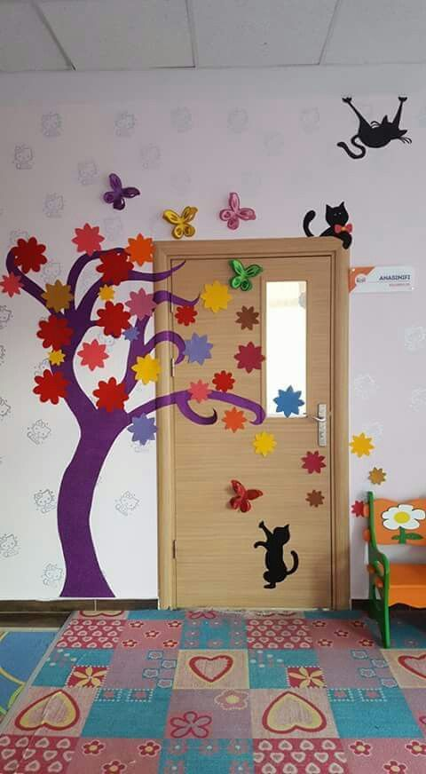 Porte decorate primavera door spring classroom 1 maestra for Porte decorate scuola