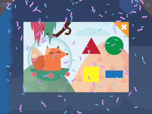 """Highlights Shapes"" puzzle per apprendere forme e colori in inglese (2-5 anni)"