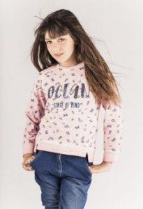 felpa rosa boboli abbigliamento bambini online