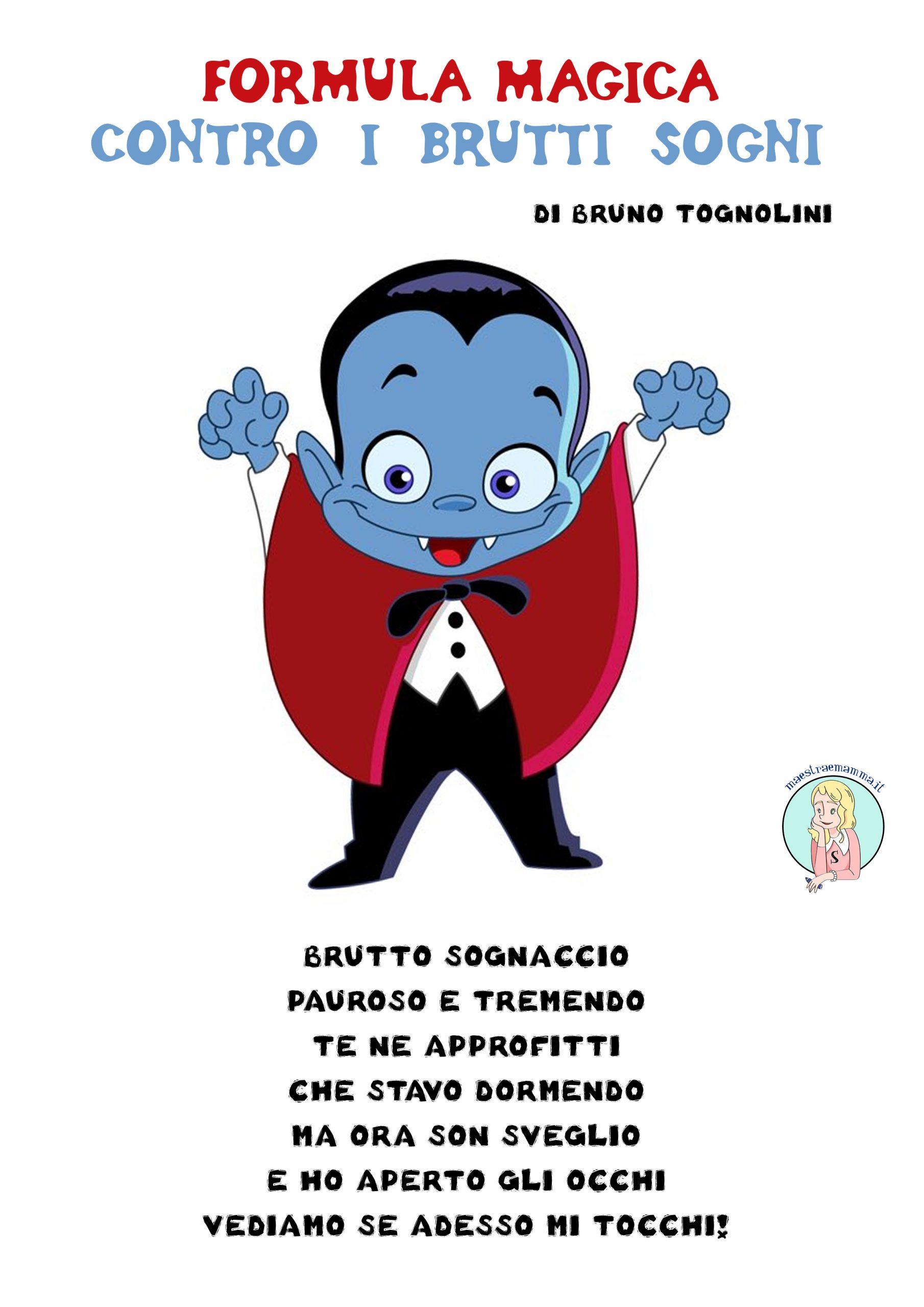 Poesia per Halloween di Bruno Tognolini