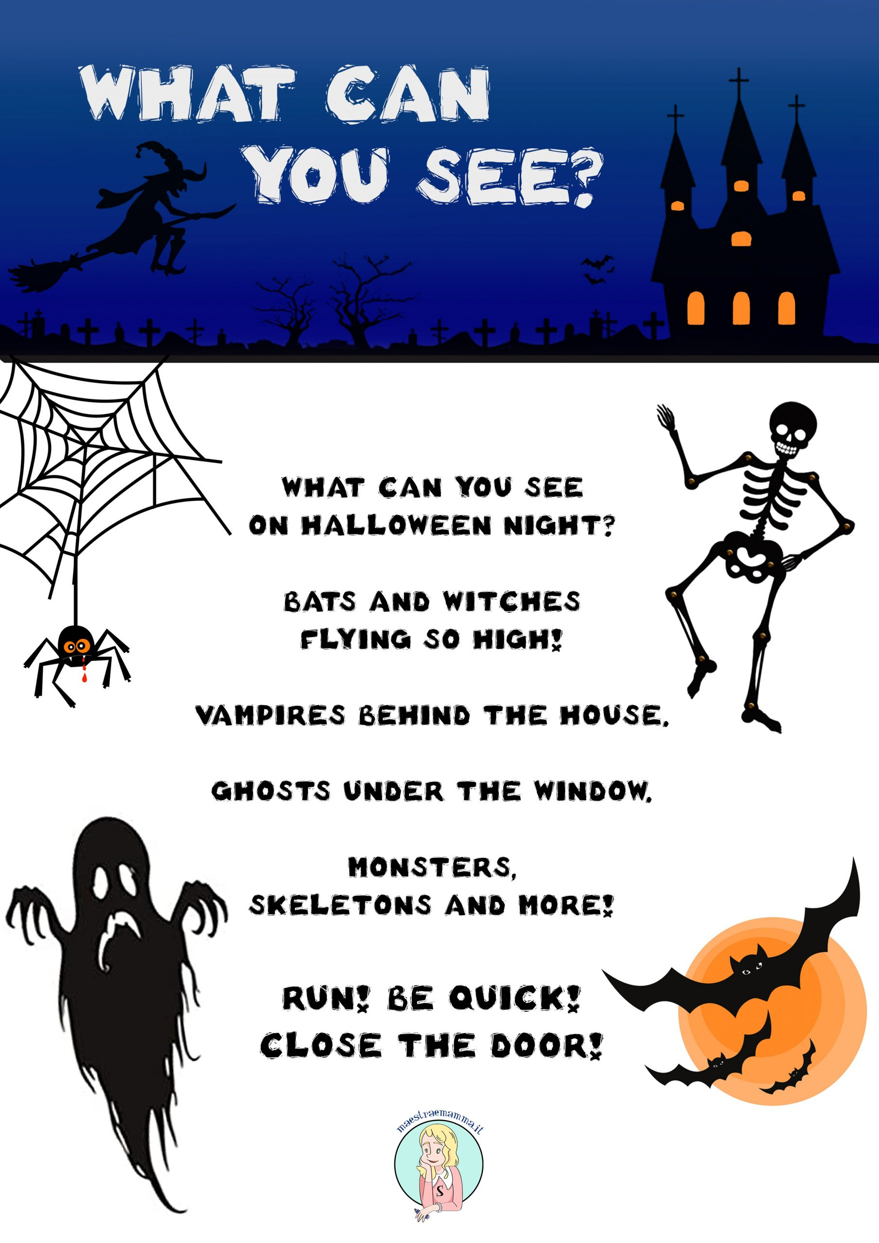 what you cansee_bn-scary rhyme halloween dance Halloween - Scary Rhymes (poesie in inglese) aghost story scary rhymes poems for kids