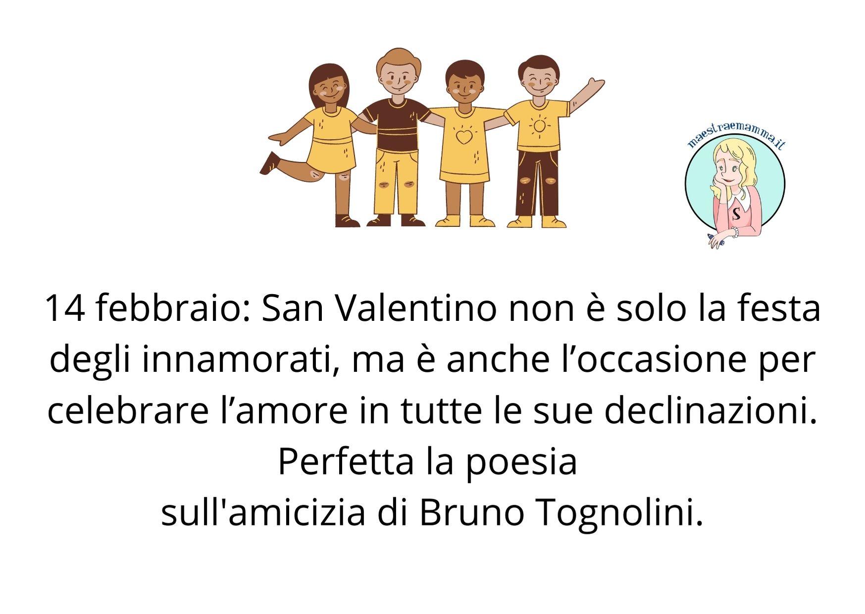 Poesia di San Valentino per bambini