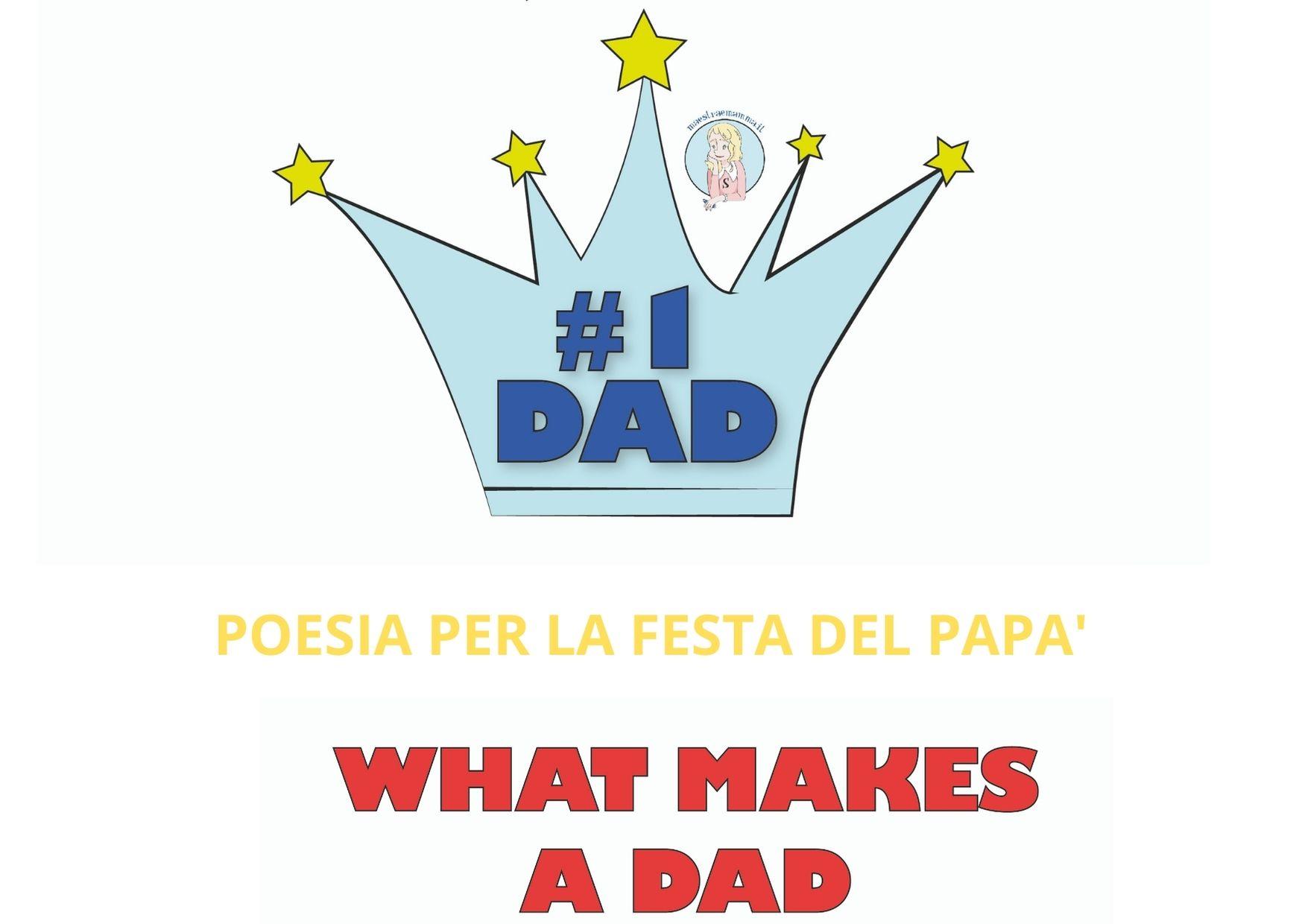 Poesia per la festa del papà in inglese
