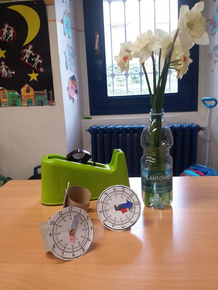 Lavoretto per insegnare a leggere l'ora - scuola primaria -