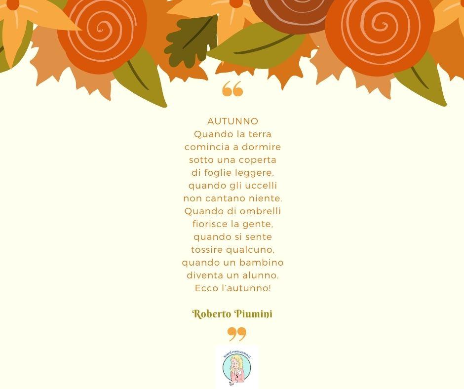 autunno poesia roberto piumini
