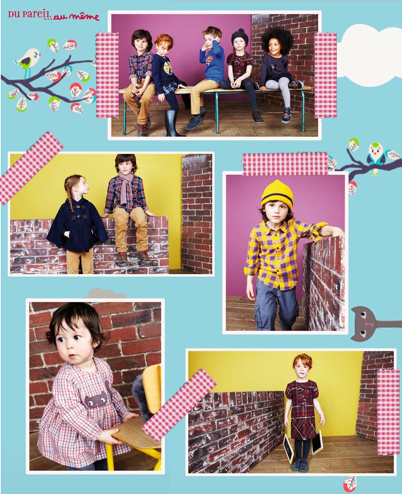Vestiti per bambini DPAM (Du pareil au meme on line)