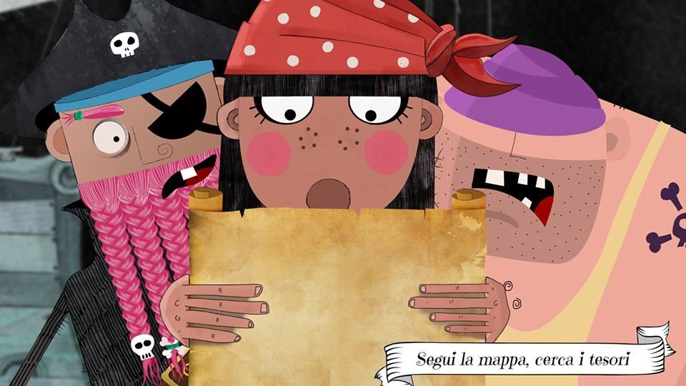 We ARGH Pirates (app educativa per bambini)