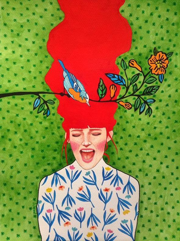 le-donne-nelle-illustrazioni-hulya-ozdemir
