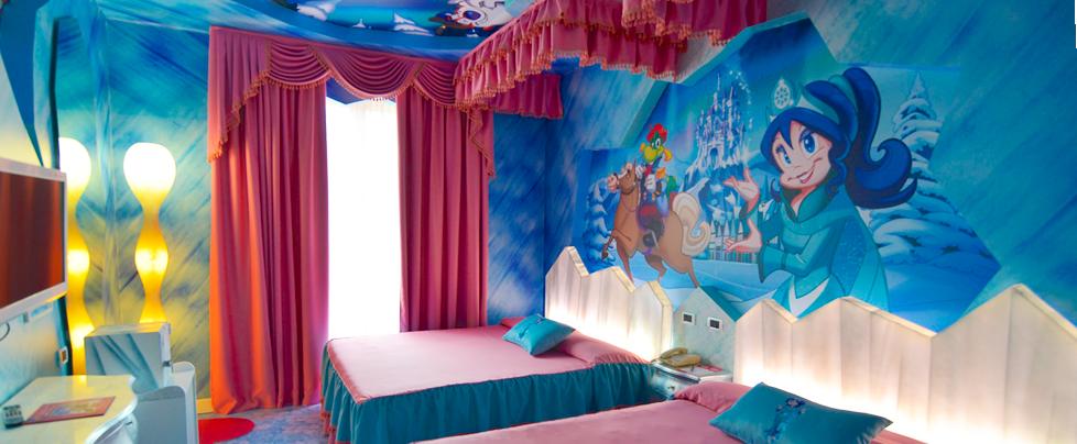 Family hotel tematici divertimento assicurato