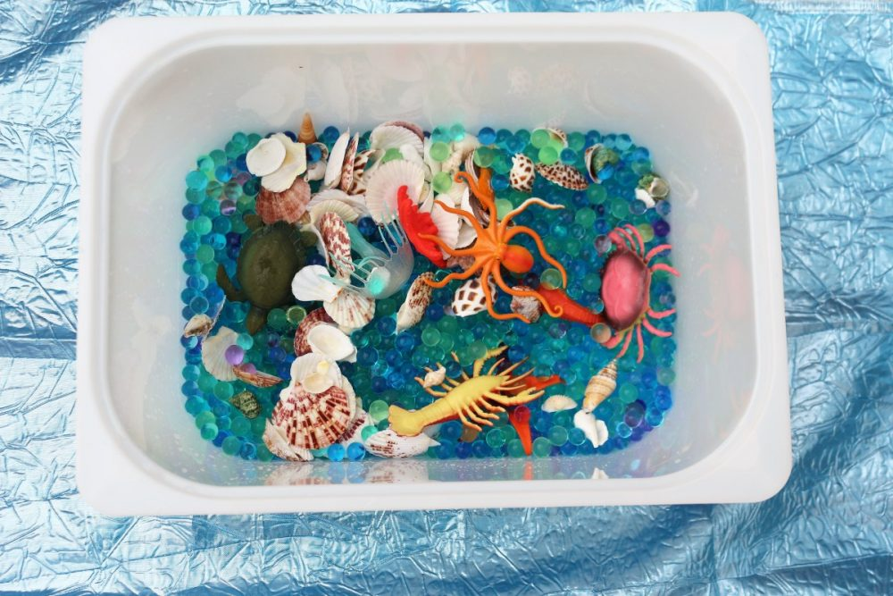 Le vaschette sensoriali per i bambini asilo nido scuola - Vaschette da bagno per bambini ...