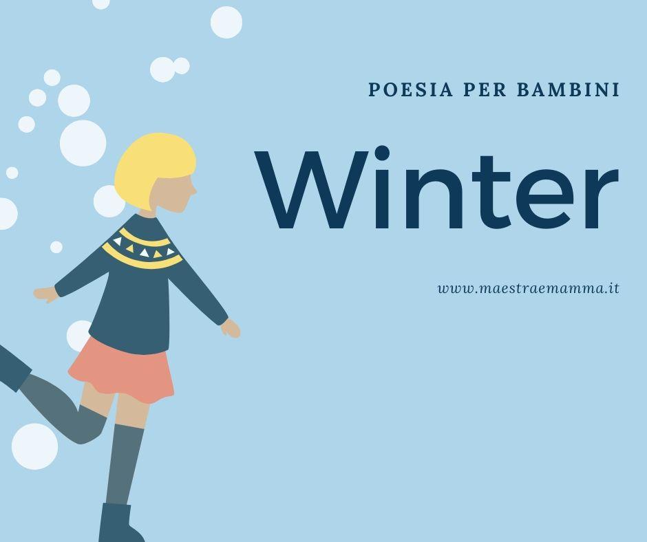 Winter – poesia per bambini in inglese