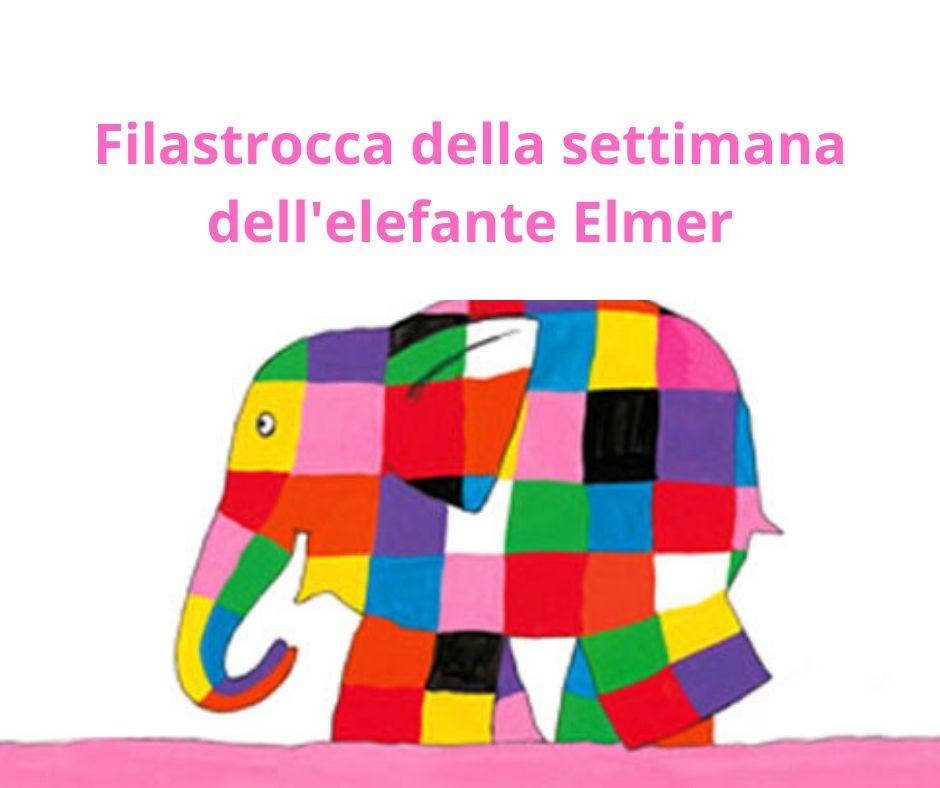 Filastrocca della settimana dell'elefante Elmer