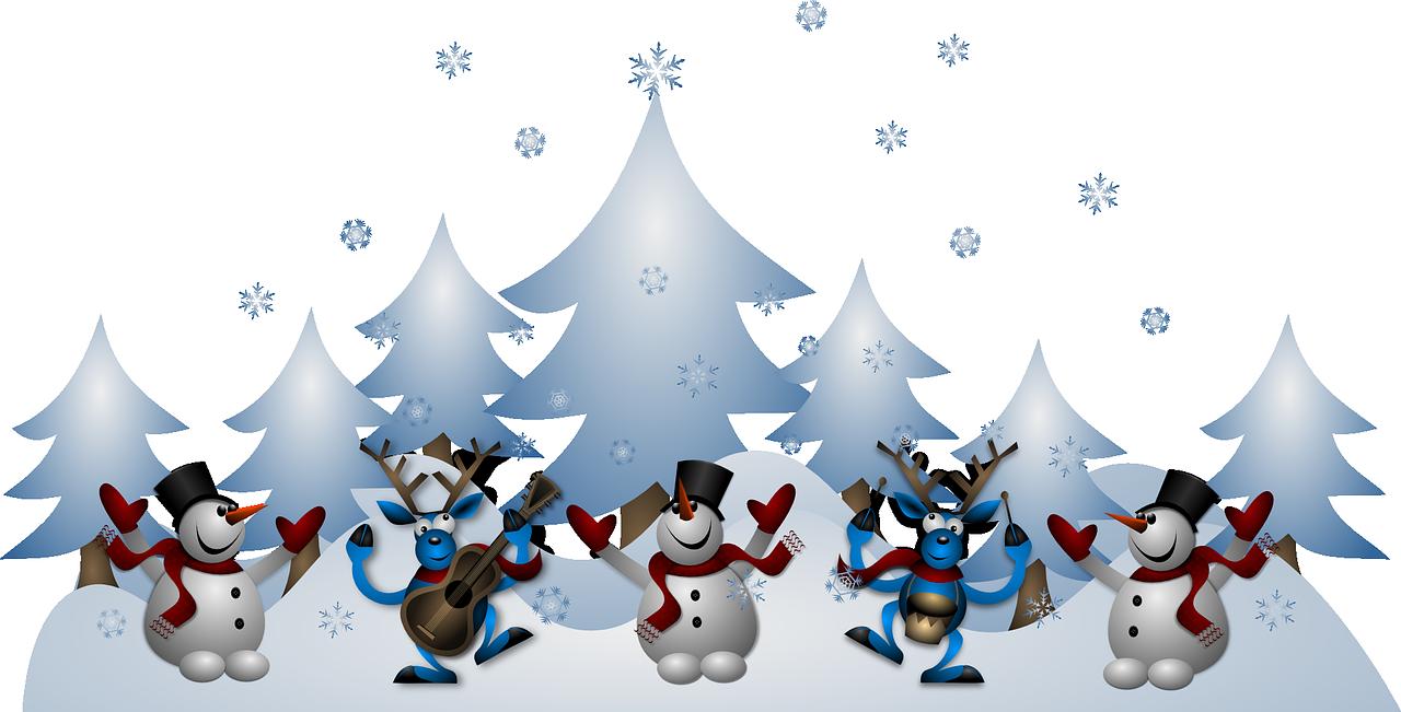 Snowmen – poesia inverno bambini in inglese