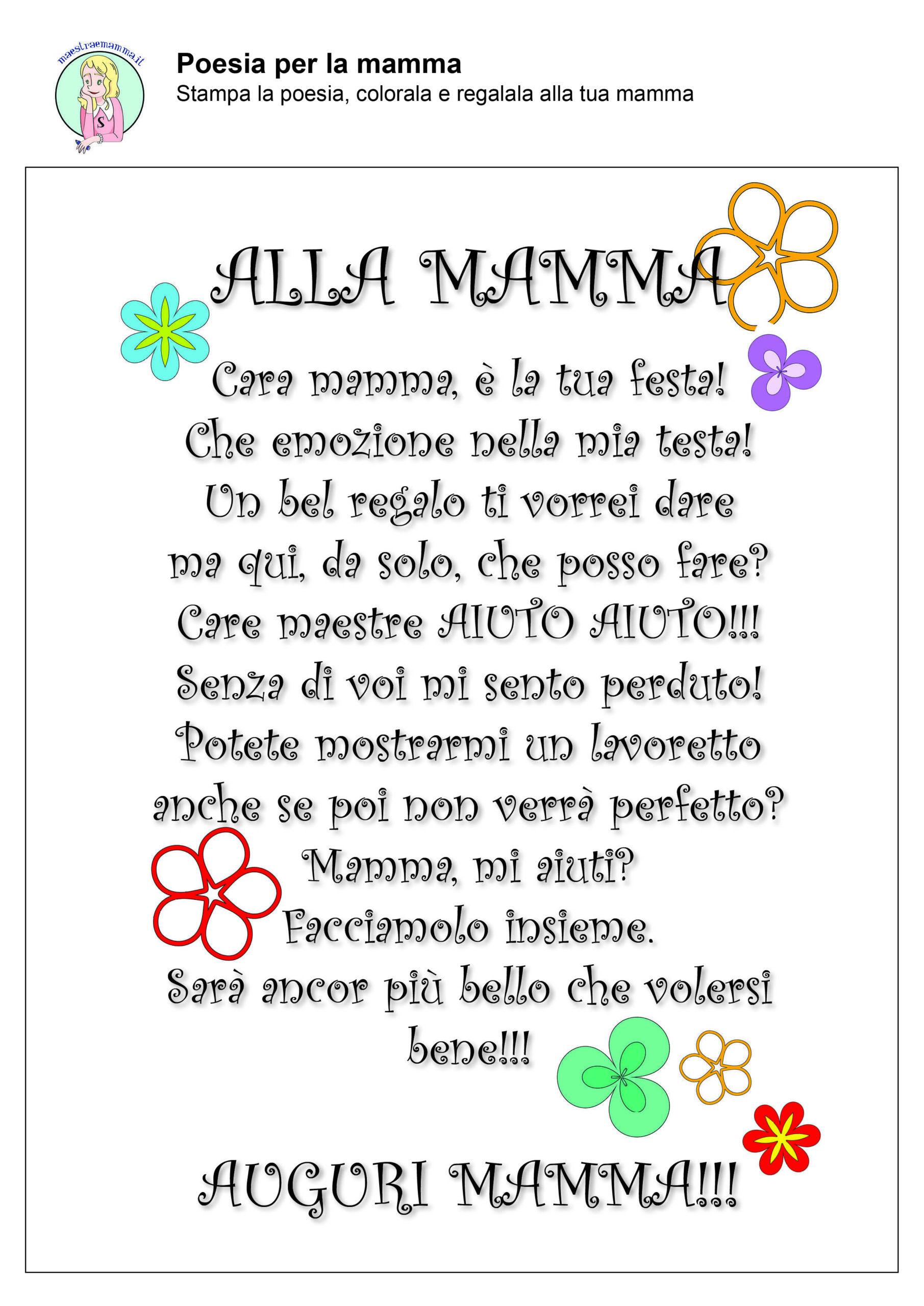 alla mamma-poesia-filastrocca-festa-della-mamma-in-quarantena-coronavirus-a-colori