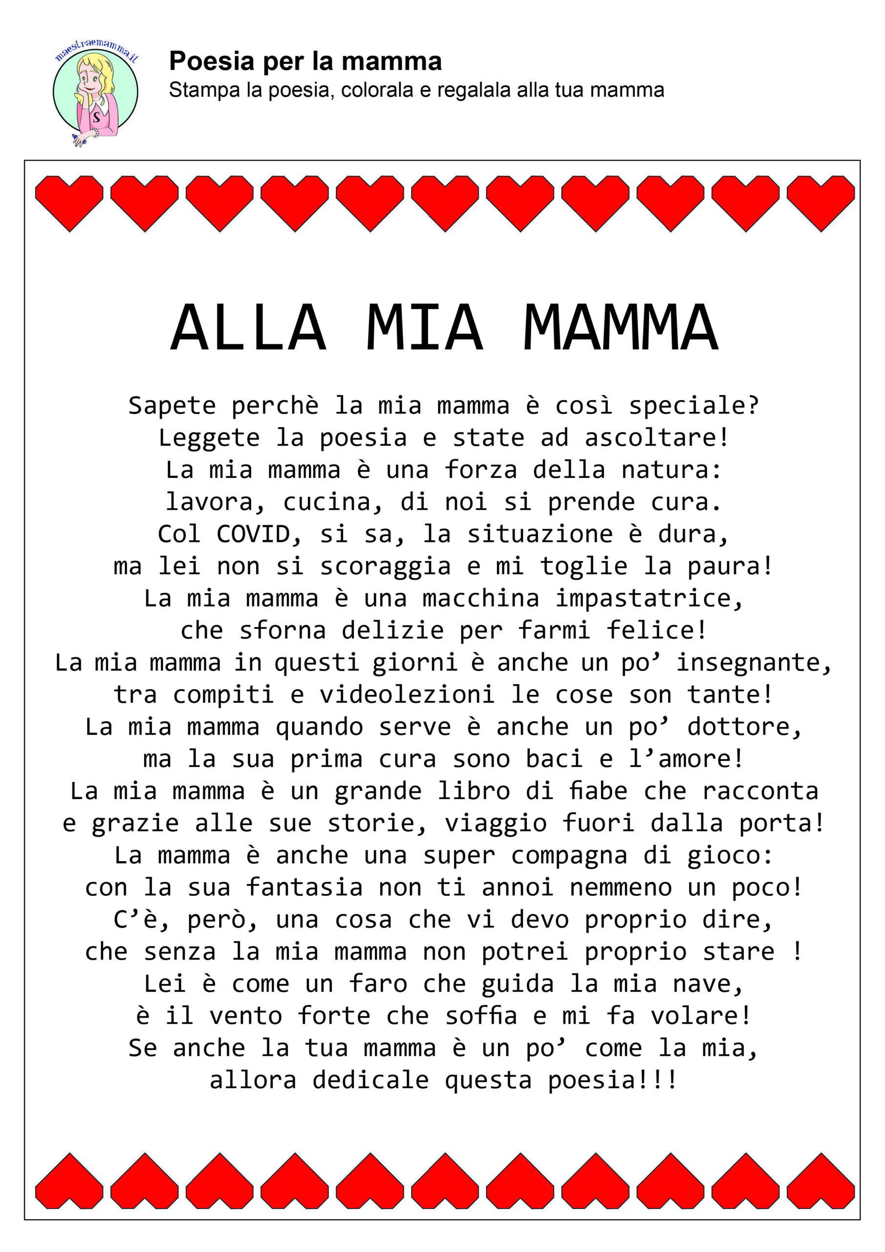 alla mia mamma-poesia-filastrocca-festa-della-mamma-in-quarantena-coronavirus-a-colori