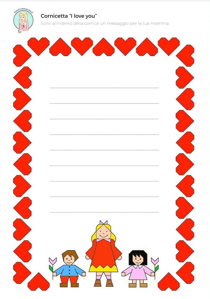 cornicetta-disegno-geometrico-festa-della-mamma-scuola-primaria-per-bambini-a-colori