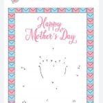 festa-della-mamma-unisci-collega-le-lettere-puntini a colori