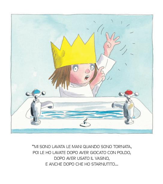 non-voglio-lavarmi-le-mani-principessa-tony-ross-albo-illustrato-per-bambini