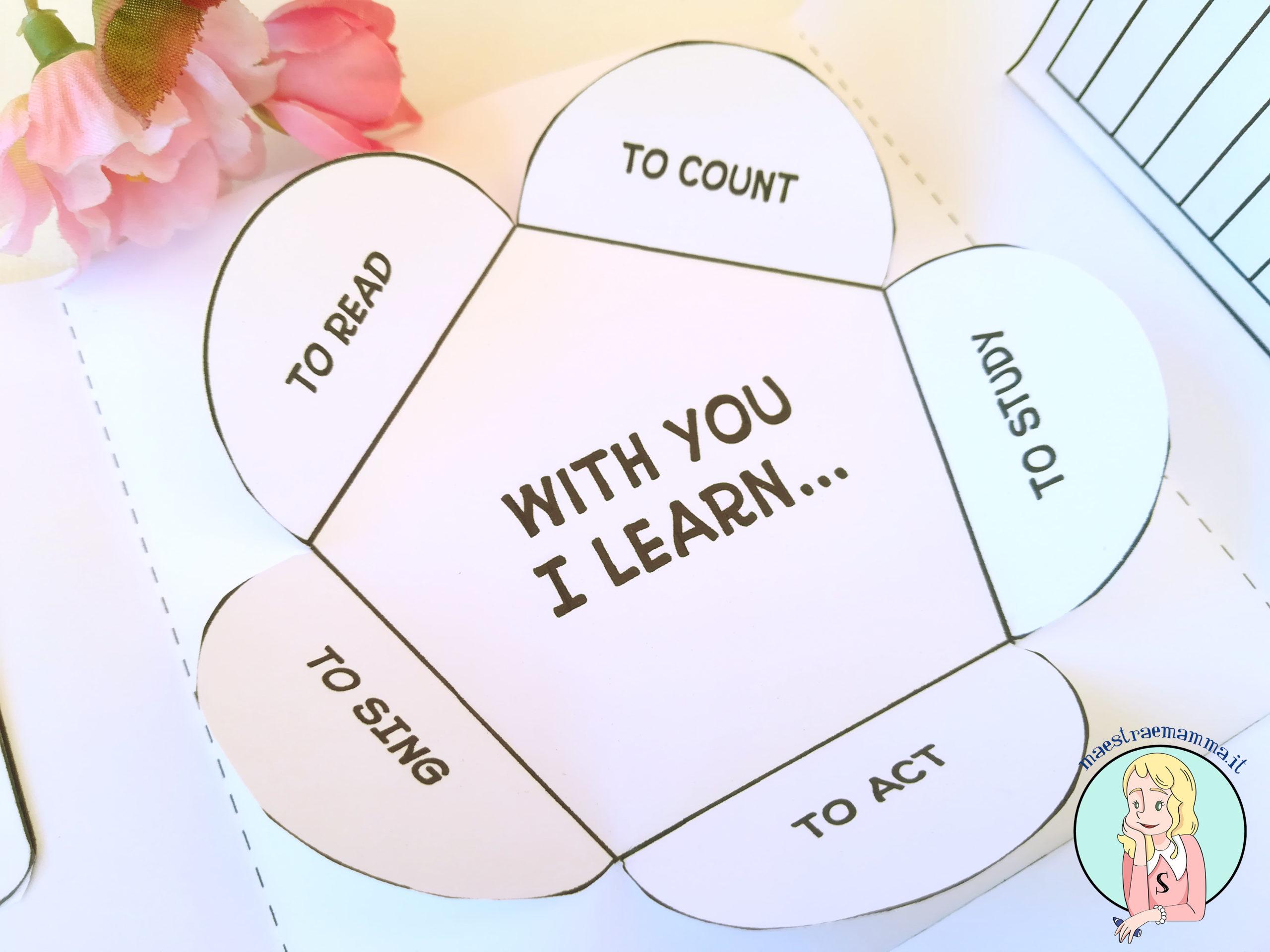 lapbook fine anno scolastico per la maestra grazie settimana del docente