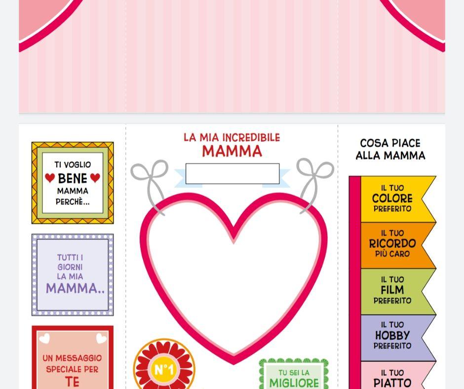 Festa della mamma – LAPBOOK in italiano e in inglese