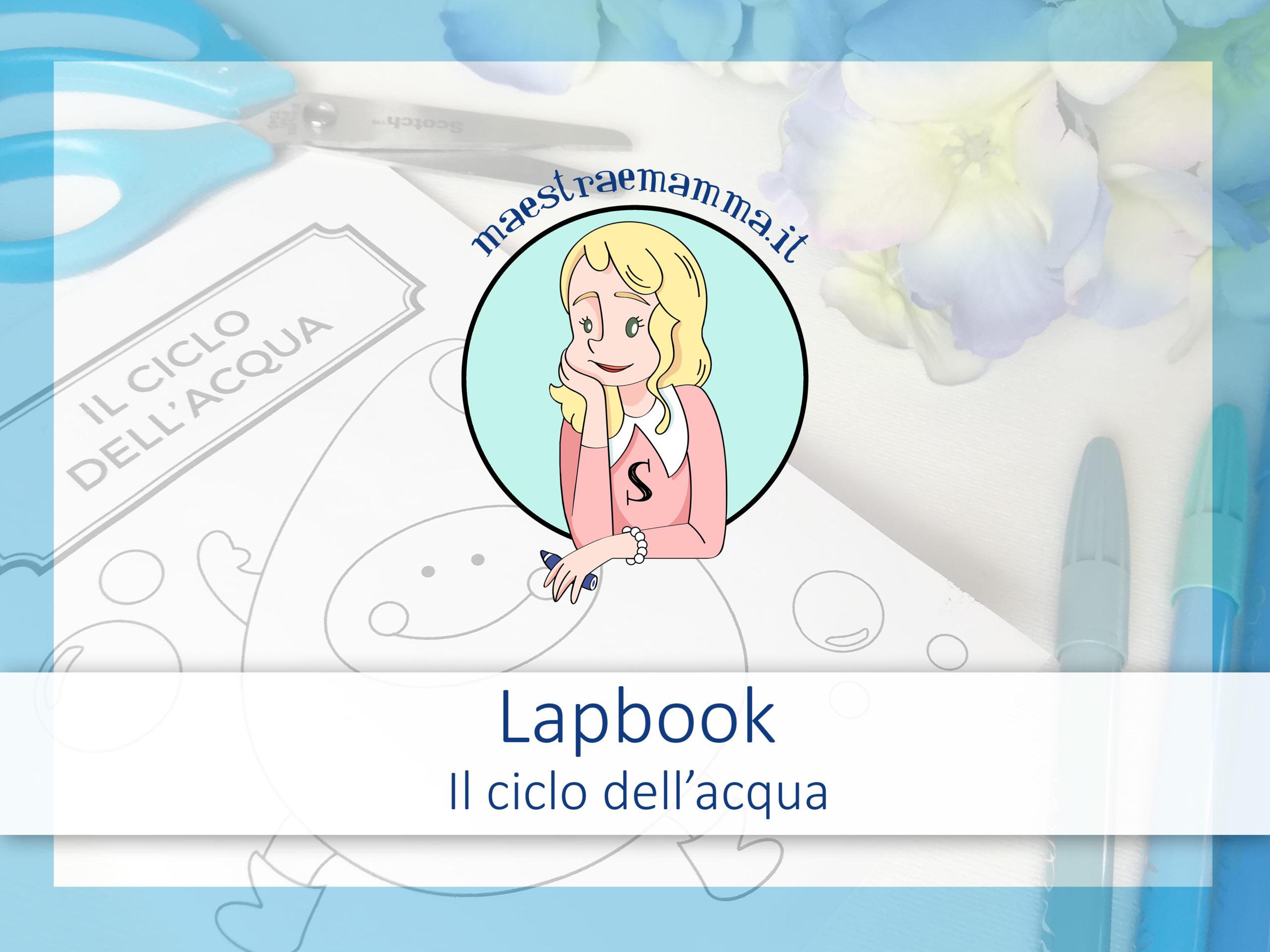 Lapbook – Il ciclo dell'acqua