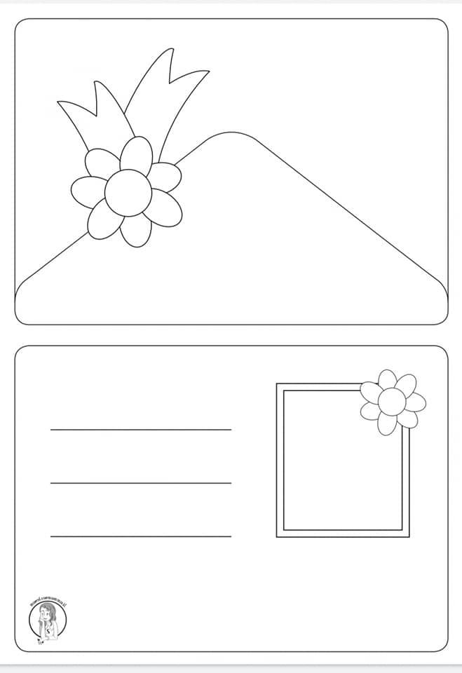 lapbook progetto continuità copertina in bianco e nero