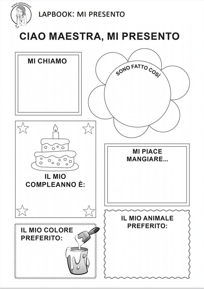 lapbook progetto continuità