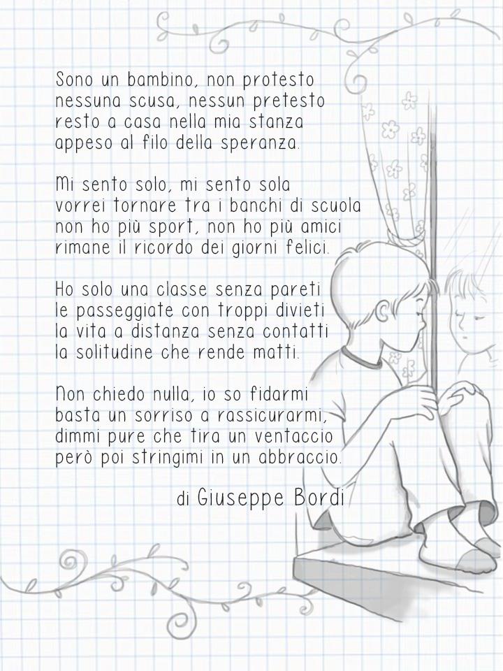 Poesie Di Natale D Autore Scuola Primaria.Poesia Di Giuseppe Bordi Sono Un Bambino Maestraemamma