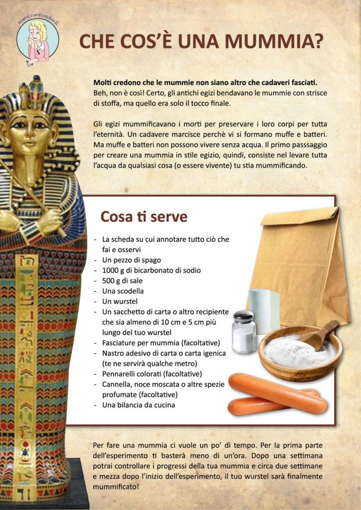 come realizzare una mummia egiziana mummificazione egizia scuola elementare