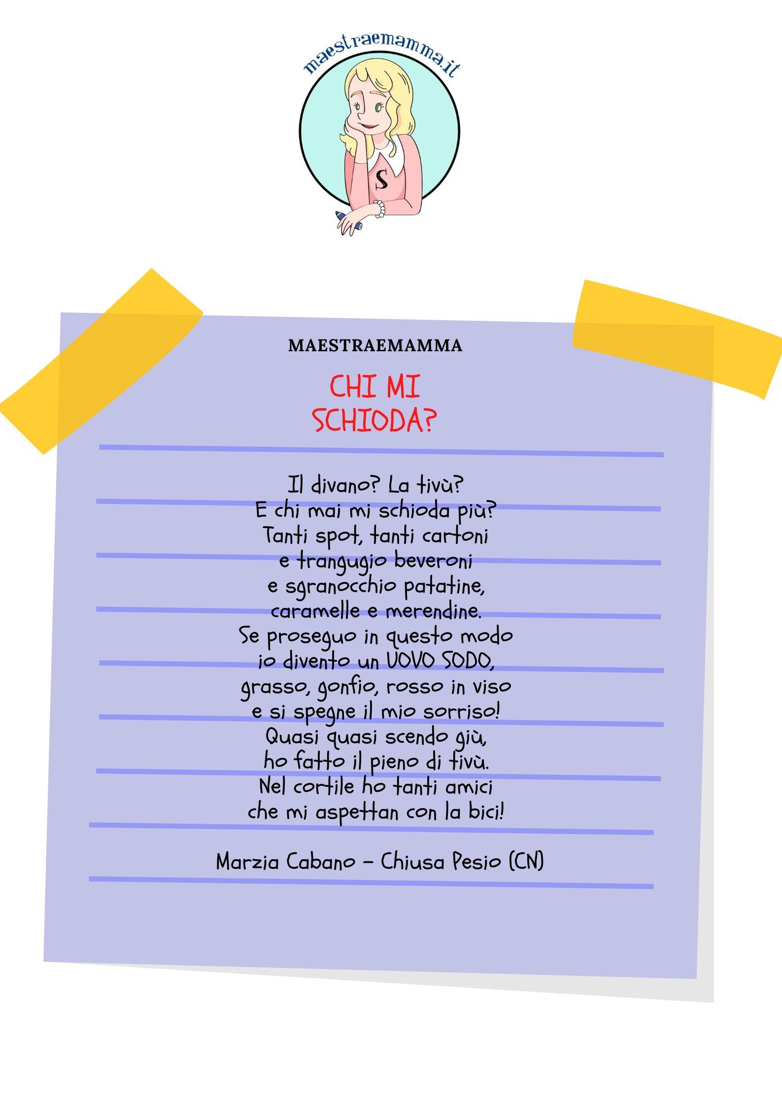 poesia bambini
