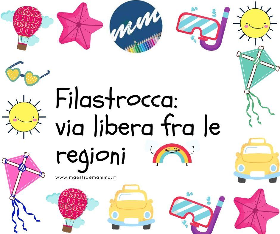 Filastrocca: via libera tra le regioni