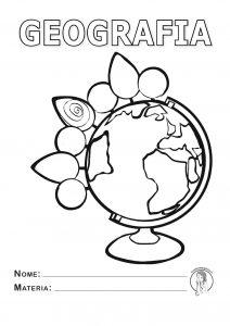 Copertine da stampare per quaderni - scuola primaria - geografia