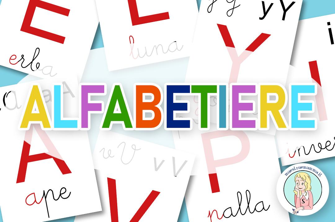 Alfabetiere murale – Maestraemamma risorse per la scuola