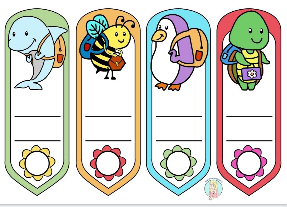 accoglienza segnalibro a forma di animali a colori per la scuola accoglienza maestraemamma