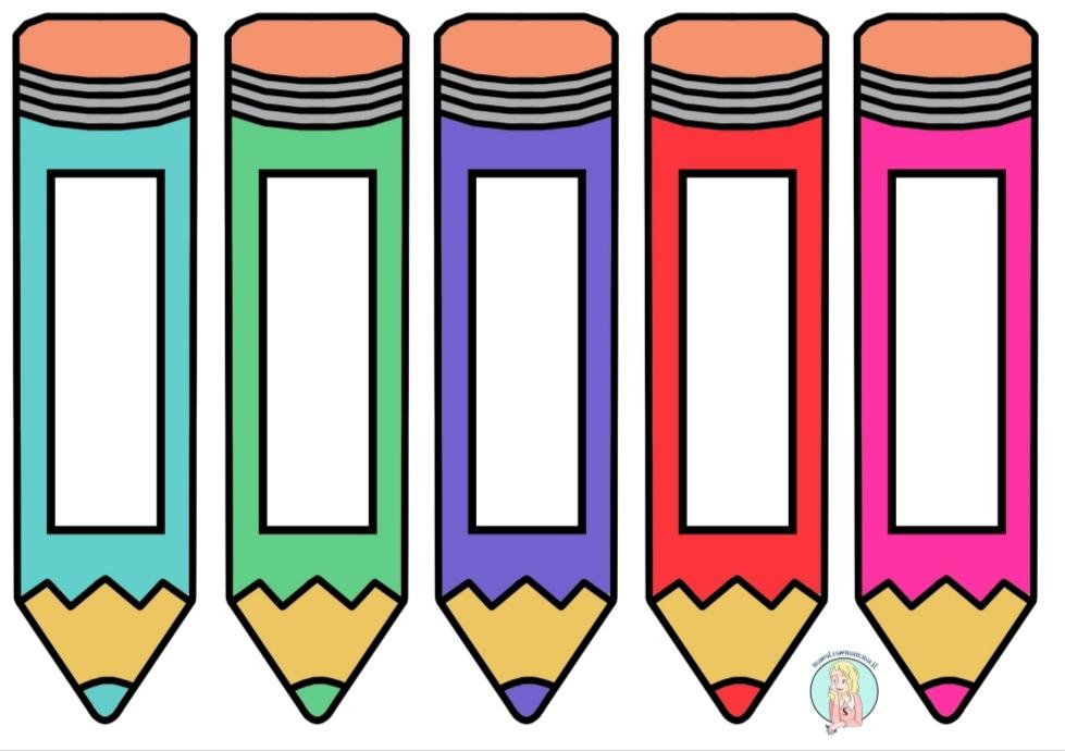 accoglienza segnalibro a forma di matita a colori scuola maestraemamma