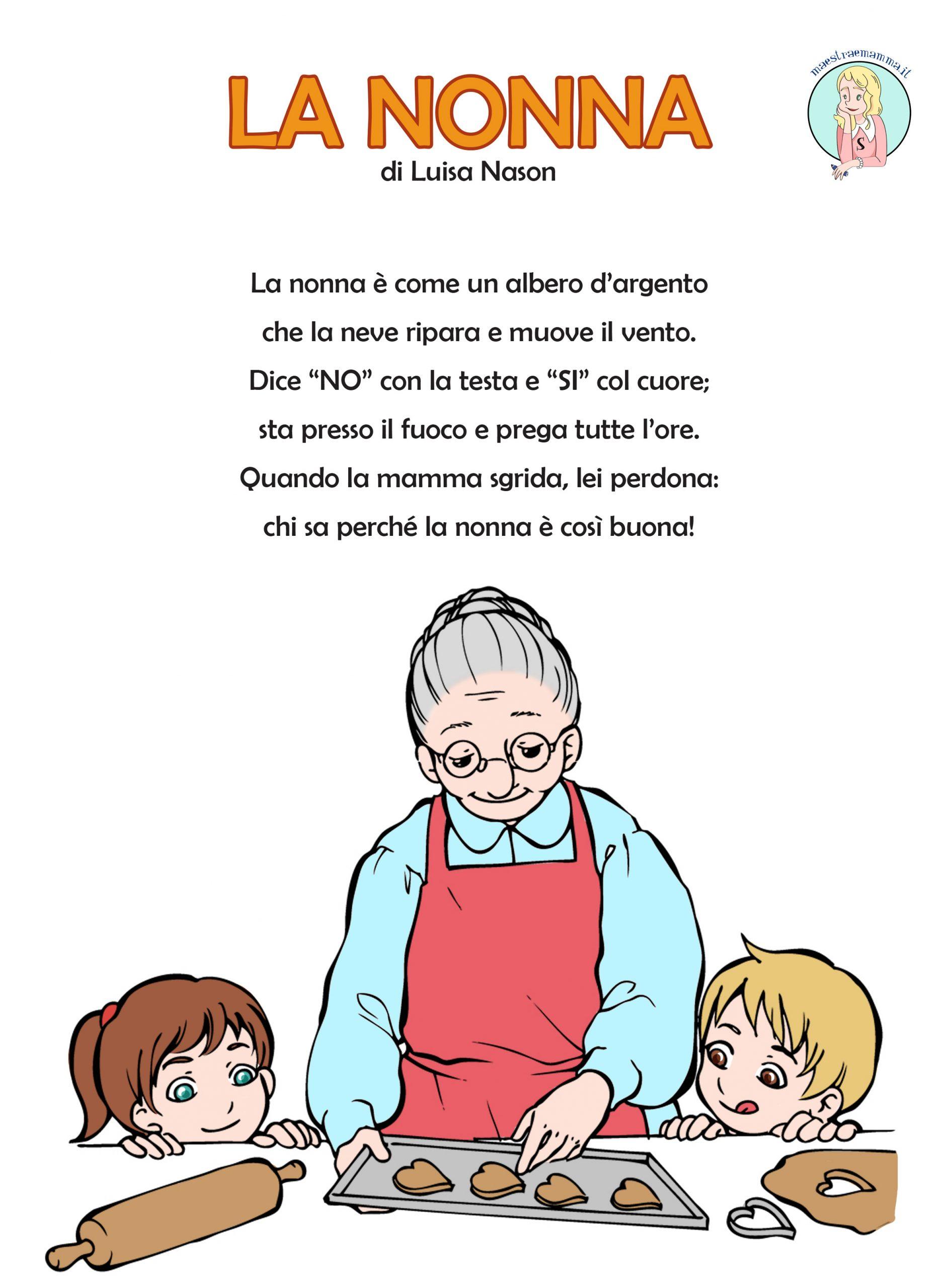 La nonna – poesia per il 2 ottobre