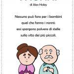 I nonni poesia per la festa dei nonni