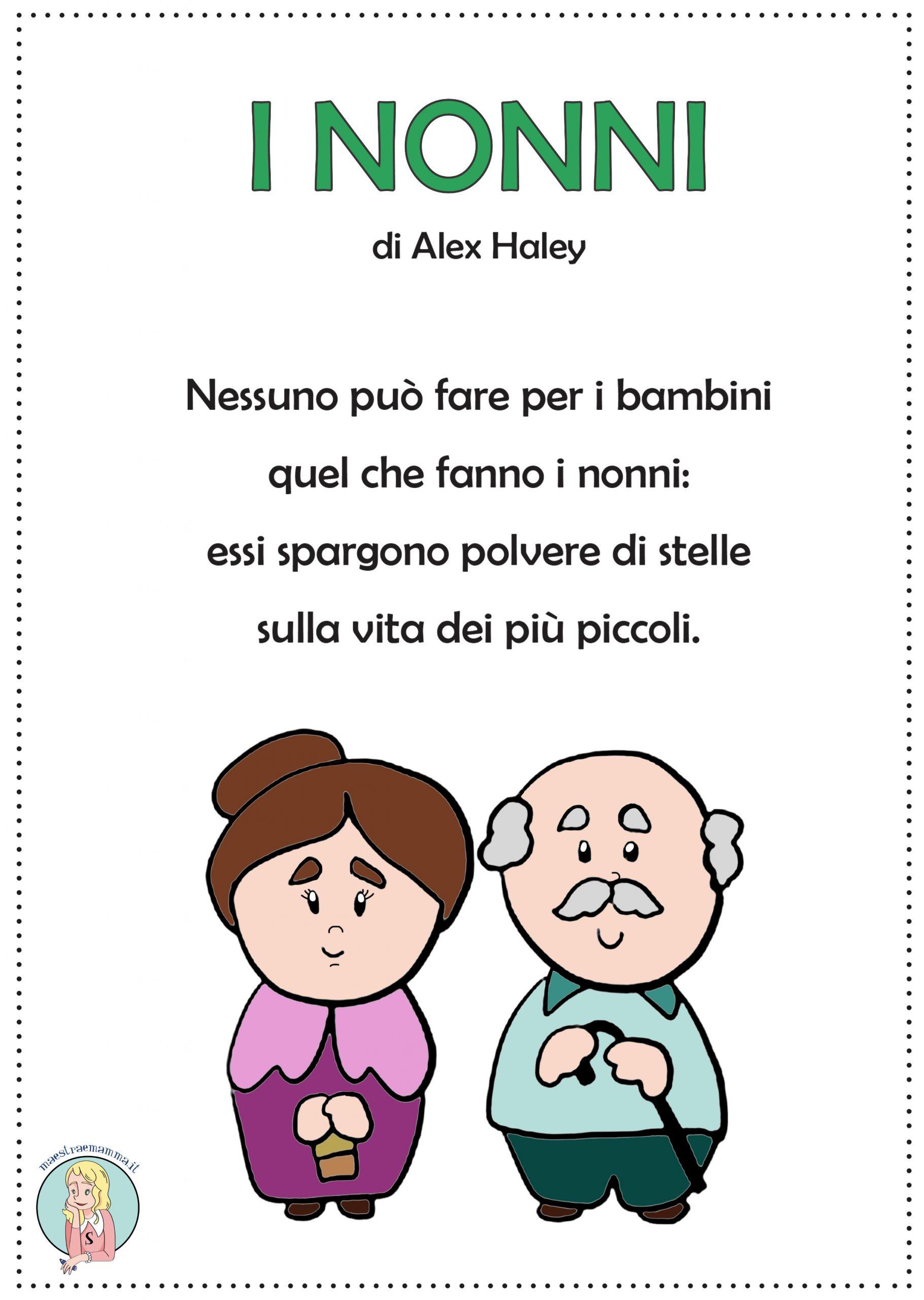 """""""I nonni"""" di Alex Haley – poesia per la festa dei nonni"""