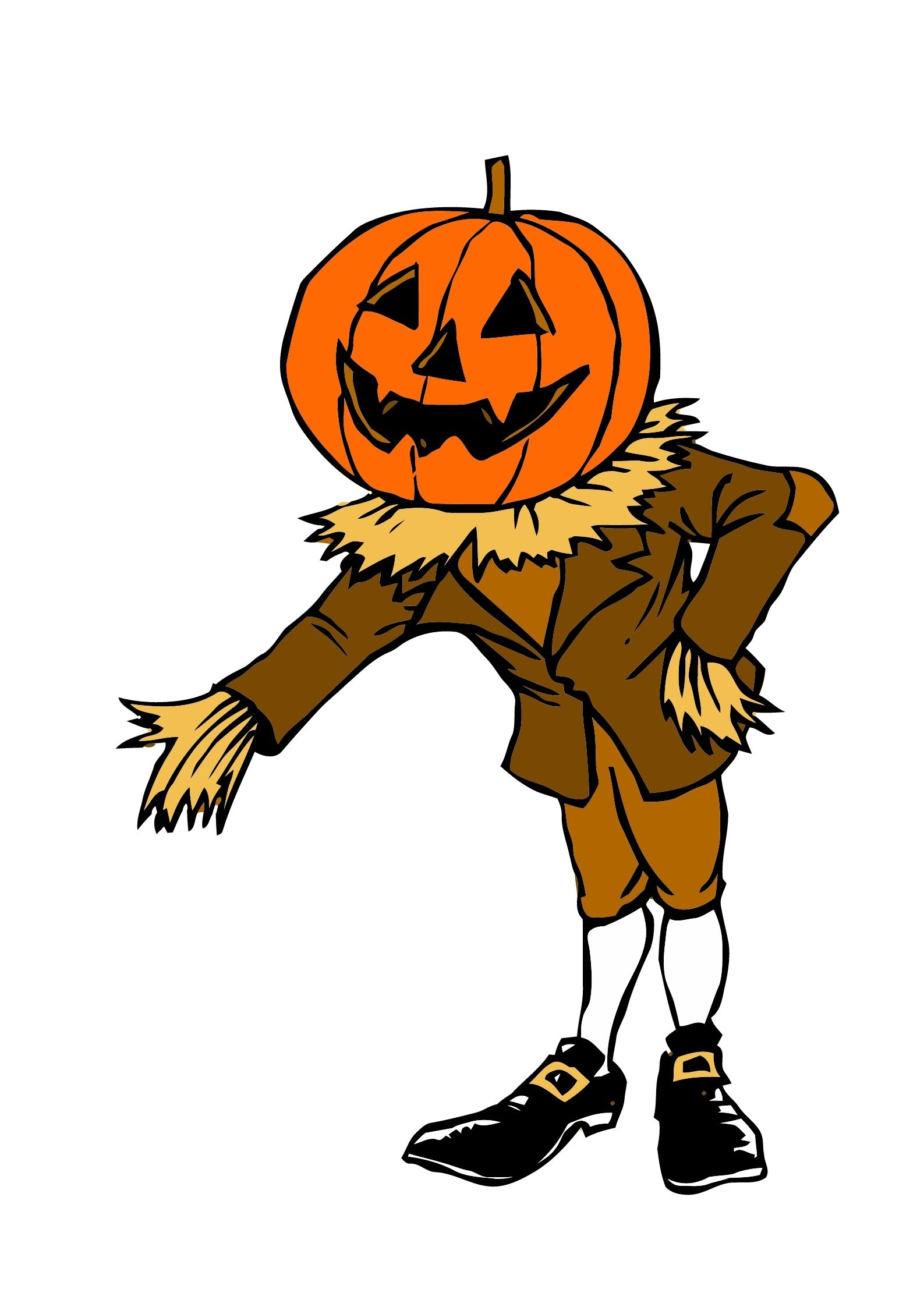 jack lanterna Disegni e sagome Halloween per bambini