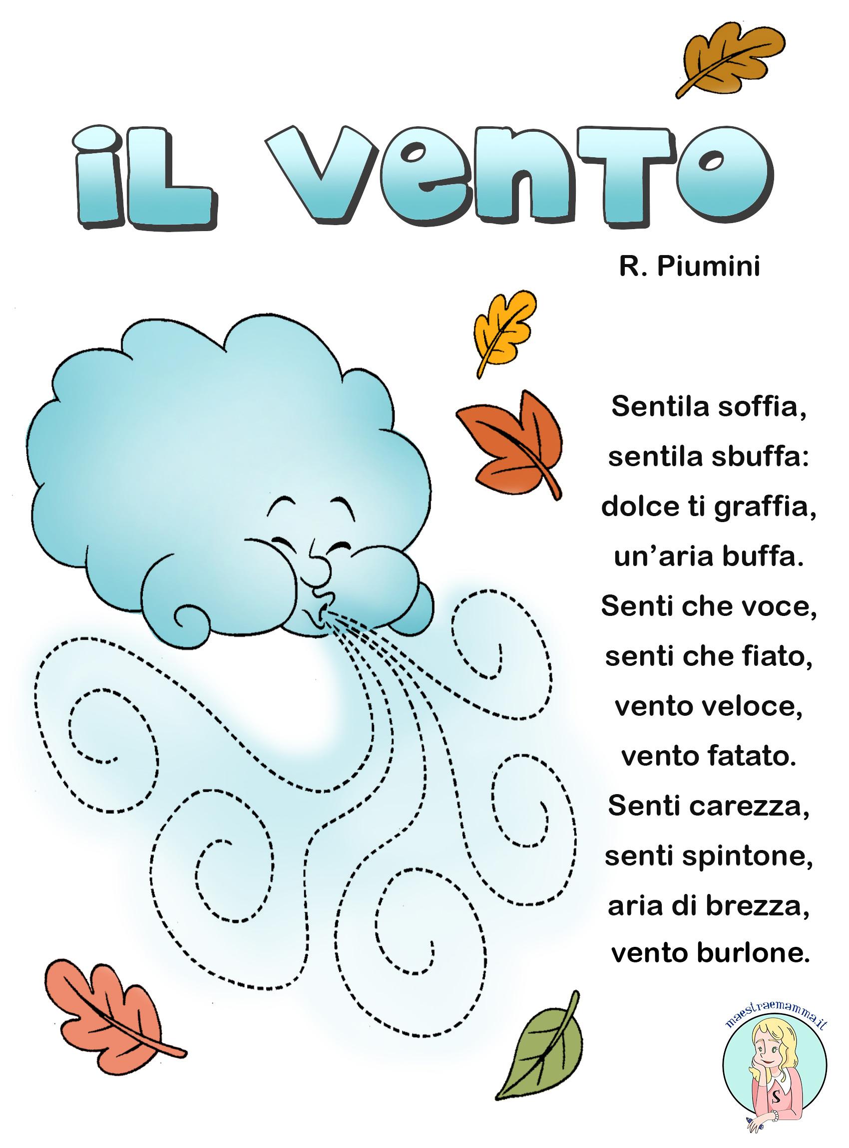 Il vento – poesia di Roberto Piumini