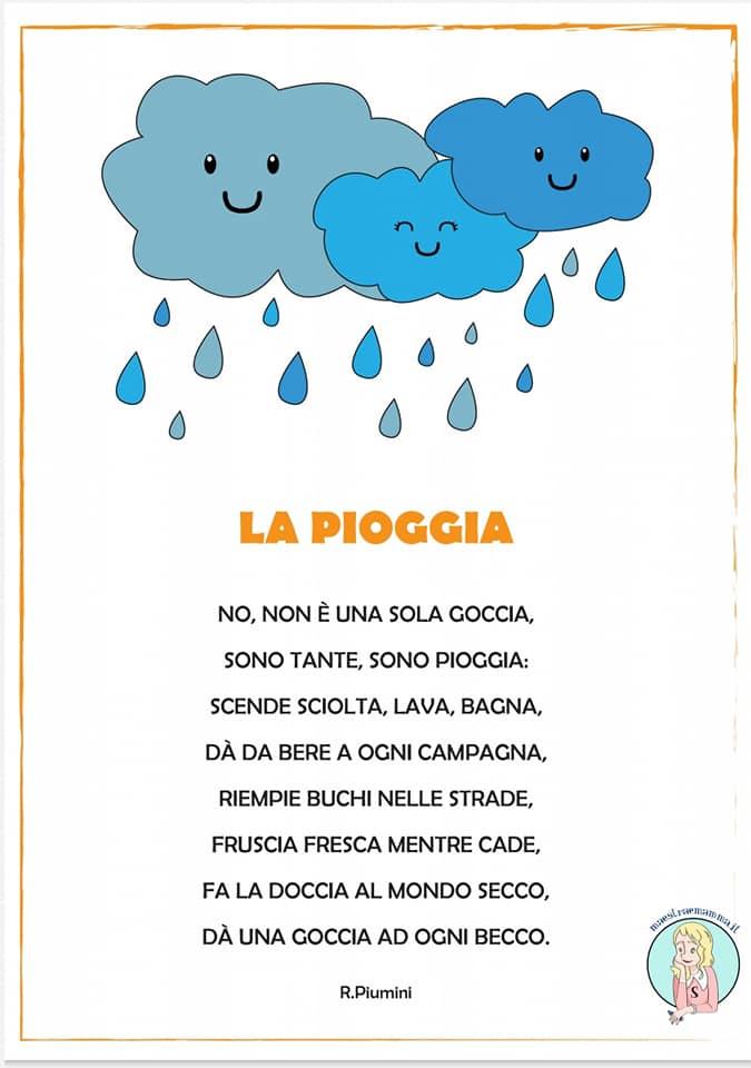 La pioggia di Roberto Piumini