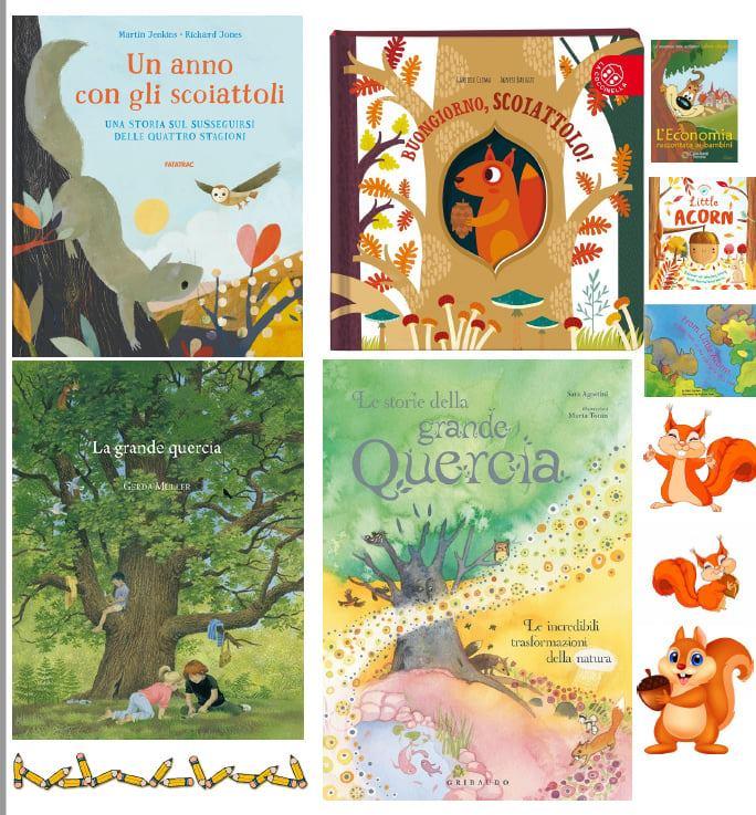 Matematica con ghiande e scoiattoli (schede matematica classe seconda)