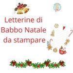 Letterina di Babbo Natale da stampare