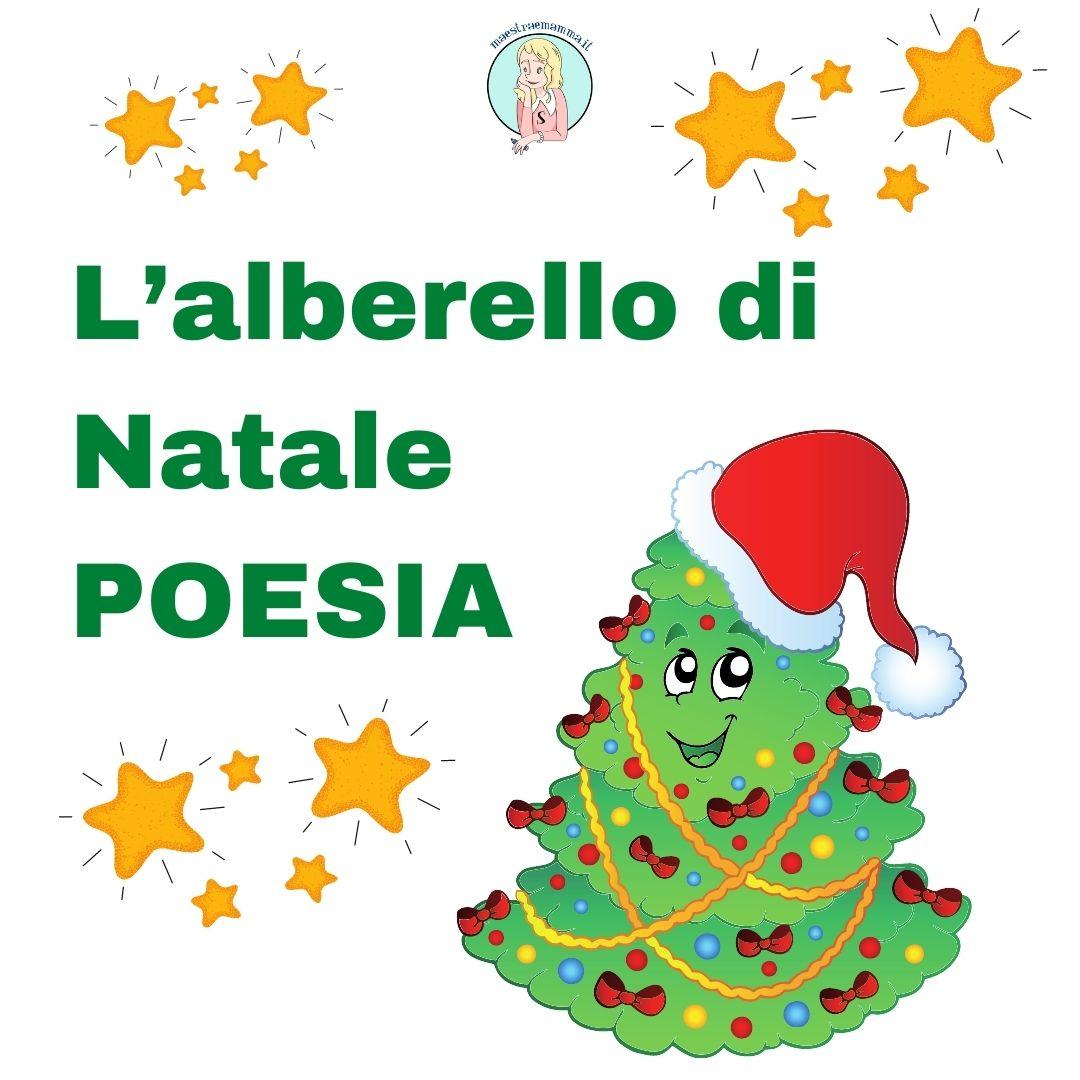 L'alberello di Natale: poesia albero di natale per bambini