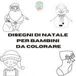 Disegni di Natale per bambini da colorare