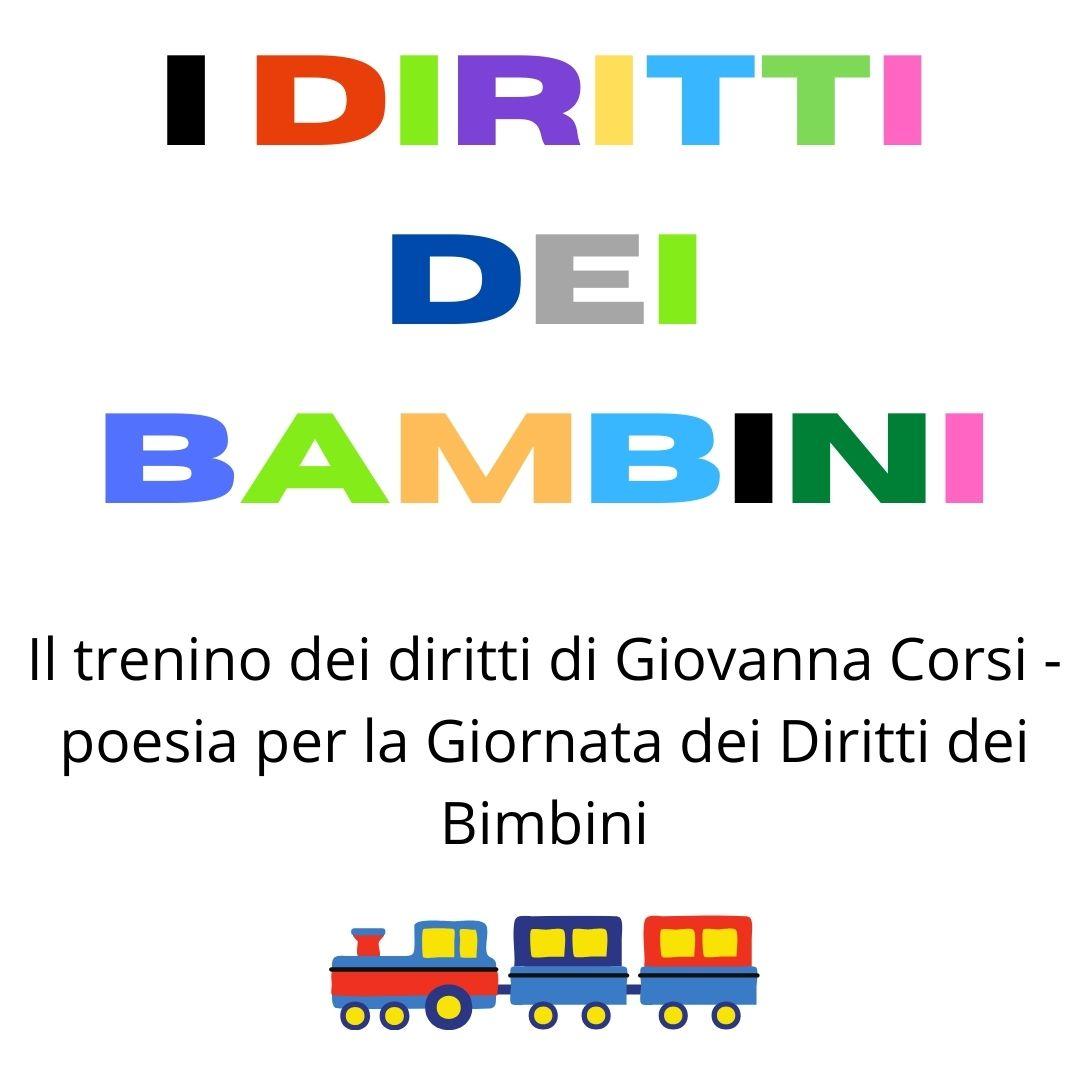 """""""Il trenino dei diritti""""- poesia per la Giornata dei Diritti dei Bimbini"""