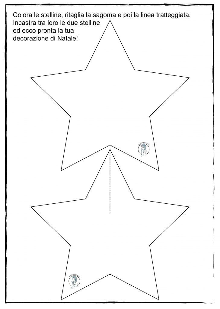 stelle di carta natalizie