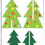decorazione di natale albero di carta