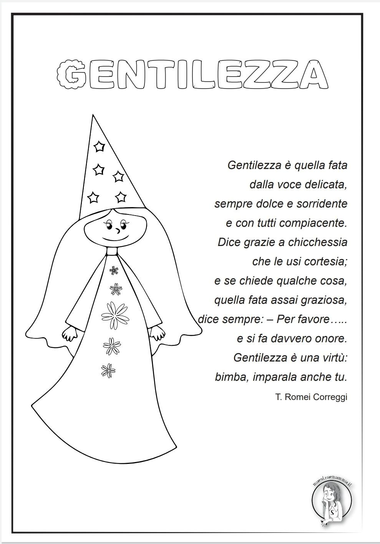 Poesia della fata della gentilezza giornata della gentilezza romei correggi poesia sulla gentilezza