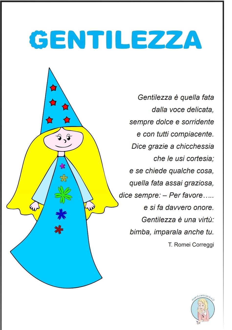 Poesia della fata della gentilezza – poesia sulla gentilezza per bambini
